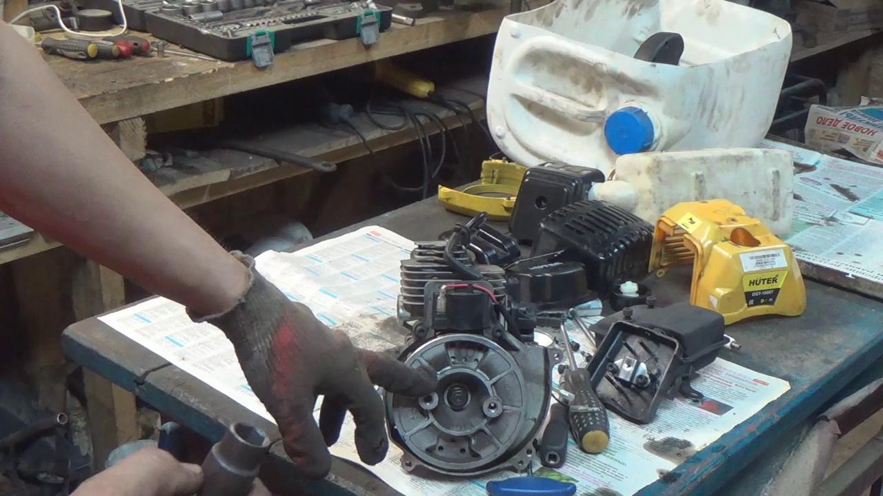 Ремонт бензотриммера своими руками 22