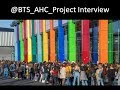 Interview with @BTS_AHC_Project about BTS and Their Work to Help Young People #BTS_twt