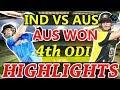 Match Highlights India vs Australia 4th ODI ,Online Streaming Cricket Score, Aus Won by 21 Run MP3
