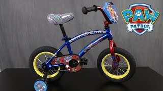 Paw Patrol 12-inch Bike from Pacific Cycle