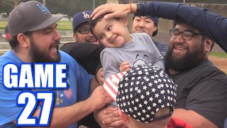 TICKLING LUMPY! | Offseason Softball League | Game 27