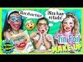 Lagu 💄 TIN FOIL MakeUp 💋 JUEGO Maquillaje con PAPEL DE ALUMINIO + ¡SORTEO KIT de MAQUILLAJE!