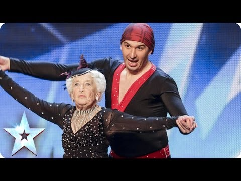 See more from Britain's Got Talent at http://itv.com/talent Simon's not strictly in the mood for ballroom, but Paddy & Nico have much more in store than first appearances suggest. Watch the...