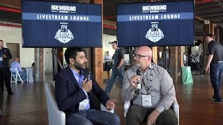 Livestream Lounge Interview with John Glick, VP of Emerging Business, Craft Brew Alliance