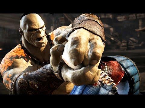 Mortal Kombat X All X Ray Moves Ultra Settings