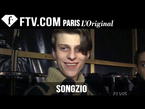 Songzio Men Backstage   Paris Men's Fashion Week Fall winter 2015-16   Fashiontv video
