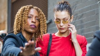 Bella Hadid SHOUTS At Security Guard For Shoving Female Photographer