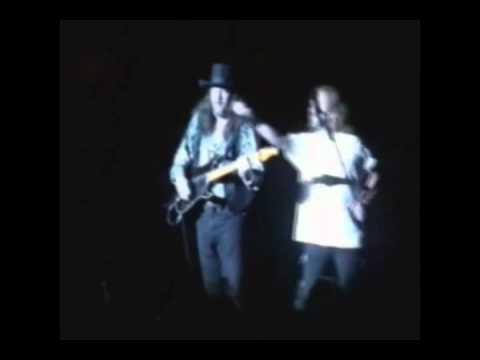 Greg Martin and Gary Rossington 1992