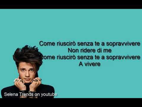 Thomas - Non Ridere Di Me-Testo(Lyrics)