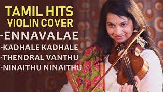 Kaathalae Kaathalae Soulful Violin Cover by Padma Shankar