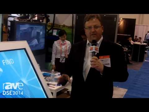 DSE 2014: SEEYOO Demos Mavel Multi-Touch Wayfinding Kiosk