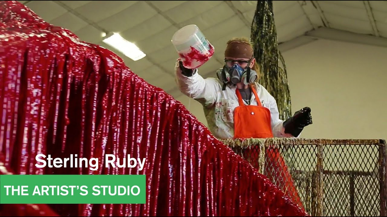 Sterling ruby urethane works the artist 39 s studio for Sterling ruby paintings