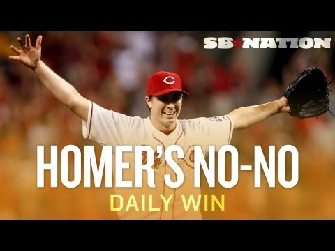 Homer Bailey Throws Second No-Hitter (Daily Win)