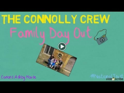 The Connolly Crew do Canons Ashby House