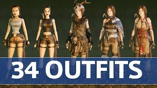 Shadow of the Tomb Raider - All 34 Outfits & Costumes Showcase