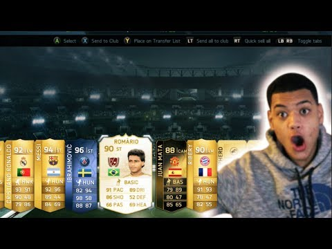 FIFA 14 - MY BEST PACKS EVER!!!!!!!!!!!!!!!!