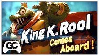 Smash Bros Ultimate ~ King K Rool ▸ F1NG3RS Synthwave Remix – Gang Plank Galleon