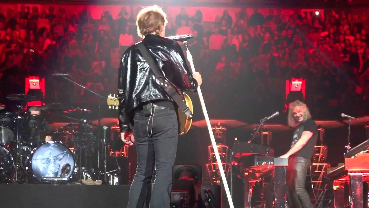 Bon Jovi Toronto Great Balls of Fire (David Bryan) Nov 1 2013 ...