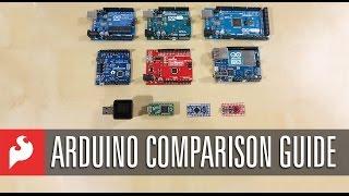 SparkFun Arduino Comparison Guide
