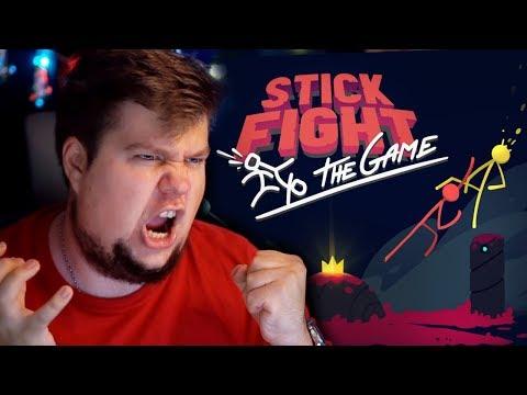 БЕЗУМНЫЙ УГАР В КООПЕ - Stick Fight: The Game