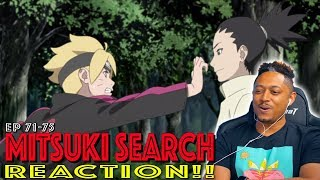 Mitsuki leaves the Hidden Leaf! First time Watching Boruto 71 72 73 74 75 Reaction