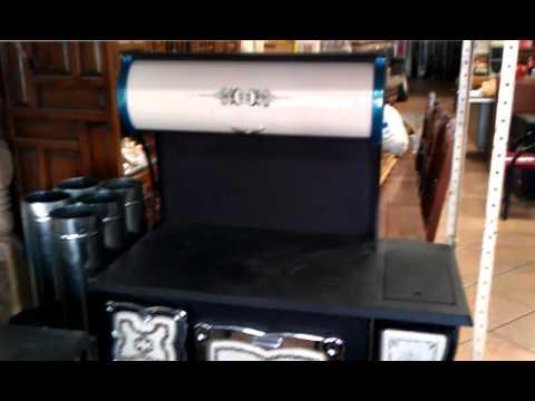 Estufas de le a menonitas el gran bazar 614 4159066 youtube for Estufas de lena para cocinar