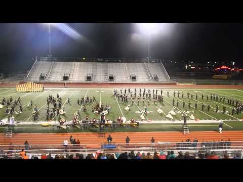 Burleson High School Marching Band USBands 2013