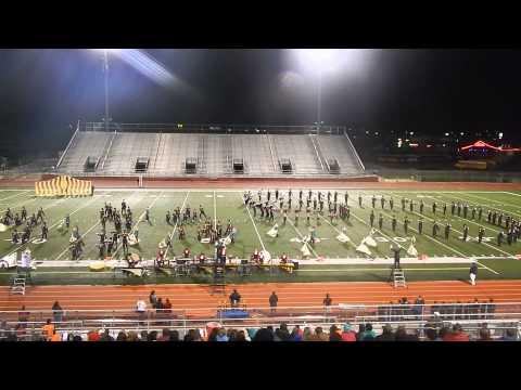 Burleson High School Marching Band USBands 2013
