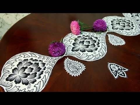Как красиво украсить стол своими руками