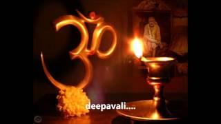 Deepavali manaiyen suhani - Lord sai bhajan with lyrics