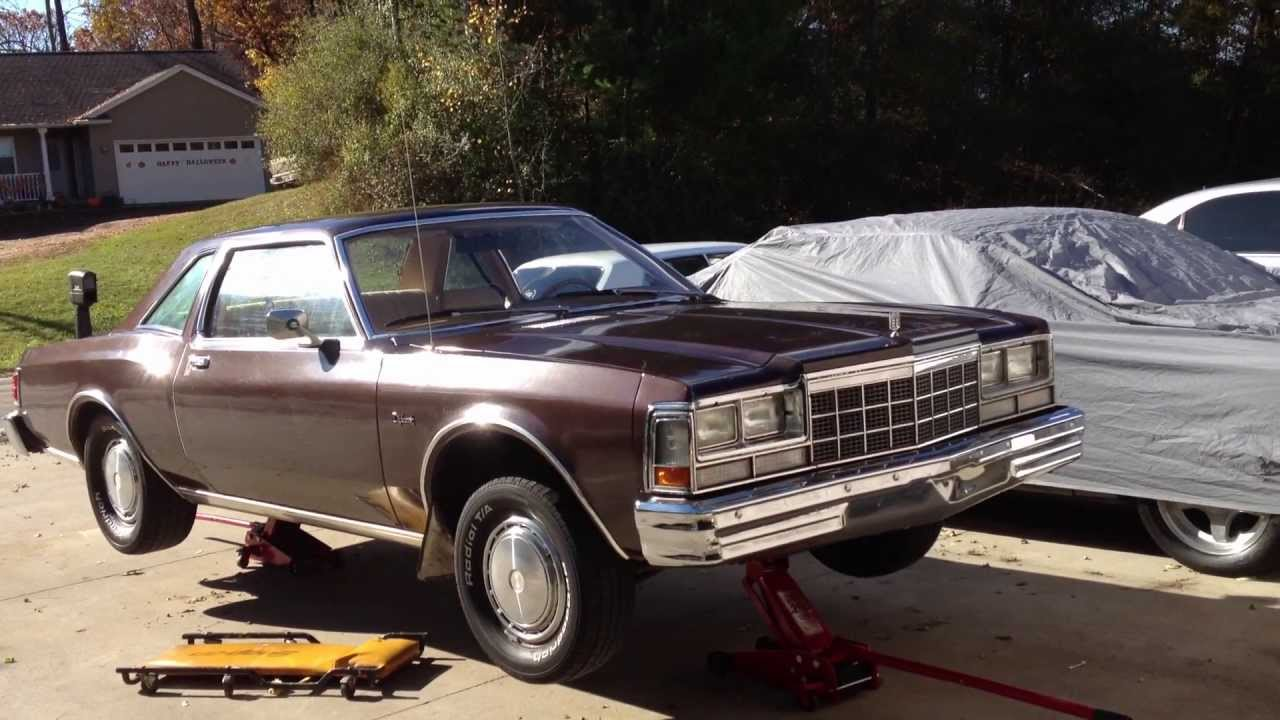 1979 Dodge Diplomat body and undercarriage editior - YouTube
