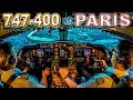 Piloting The BOEING 747 Into Paris Airport mp3