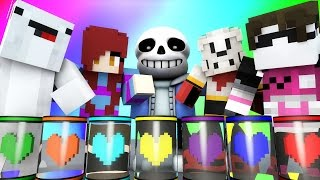 Minecraft Mini-Game : DO NOT LAUGH! (UNDERTALE, CRAB MCGEE!) w/ Facecam
