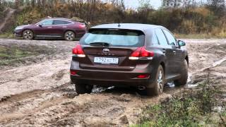 Toyota Venza. off-road