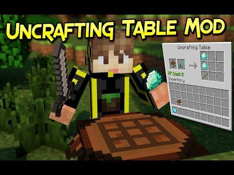 Uncrafting Table Mod   Recuperar Tus Recursos Facilmente   Minecraft 1.12.2–1.7.10   Review Español