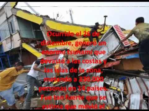 los 5 terremotos mas fuertes de la historia de la humanidad moderna.