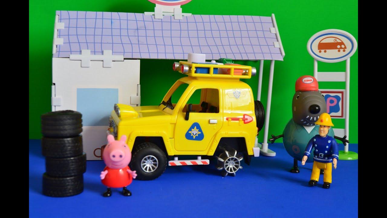 Sam Toys r us Pig Toys Fireman Sam Toys