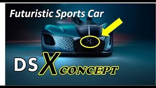 [Luck This] The DS-X Concept - Is A Futuristic Sports Car Split In Two Parts