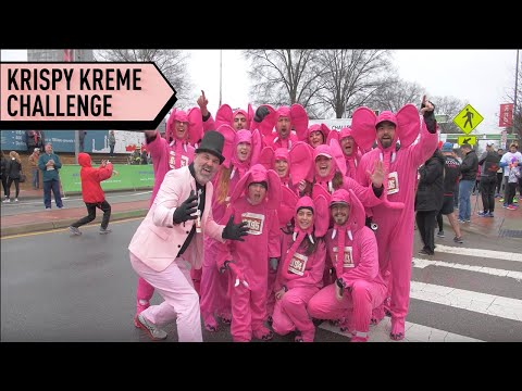 EPIC Krispy Kreme Challenge | Pumped