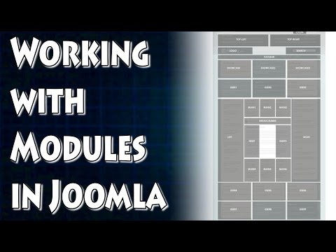 Joomla Tutorial: Working With Modules