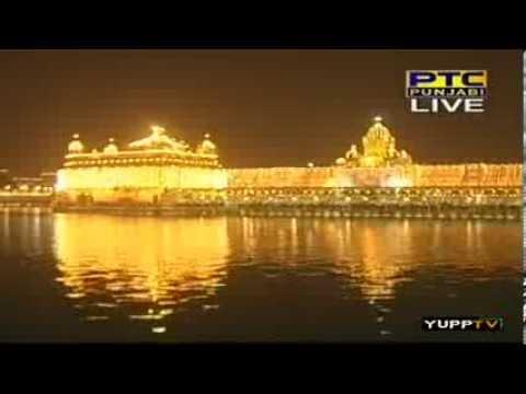 Bhai Ravinder Singh Ji - Guru Ramdas Ji Prakash Gurpurab Aarti Kirtan + Fireworks, Sri Darbar Sahib video