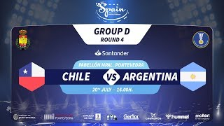 #Handtastic | PR - Group D | Chile : Argentina