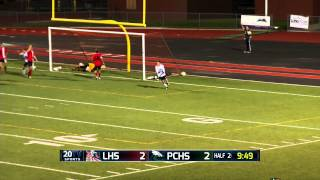 Pine Creek vs Liberty boys soccer 2nd half highlights