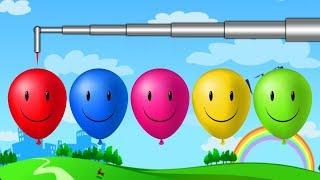 Pepee ve Niloya ile Balonları Patlatarak Renkleri Öğreniyoruz