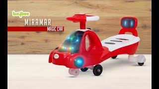 Baybee Miramar Hound Baby Swing Magic Car Free Wheel Magic Car and Music