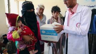 Race against time to save lives of children suffering from severe malnutrition in Yemen