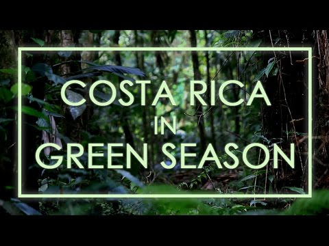 Costa Rica Travel - Green Season 2015 HD
