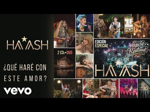 HA-ASH - Qué Haré Con Este Amor? Versión Acústica [Cover Audio]