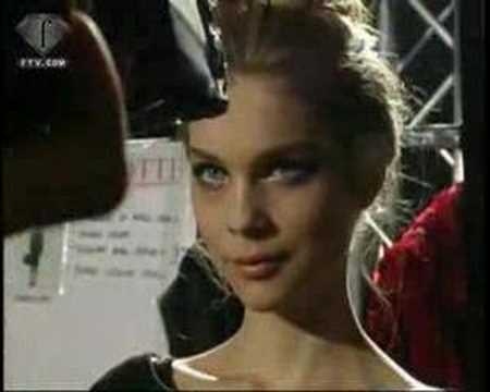 Blumarine F/W 2007 - backstage / show - youtube
