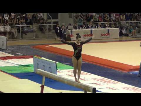 Carlotta Ferlito (ITA) Jesolo 2012 - BB - 2nd place, 15.20